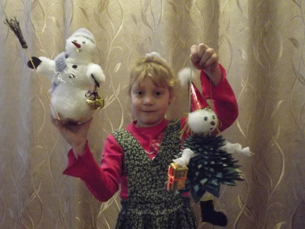Объемные новогодние игрушки своими руками из подручных